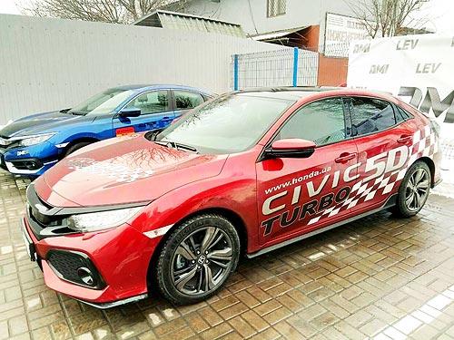 В Киеве протестировали новинки Honda