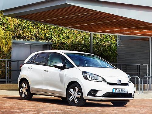 В Украине стартовали продажи нового поколения Honda Jazz e:HEV
