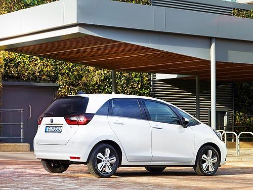 В Украине стартовали продажи нового поколения Honda Jazz e:HEV - Honda