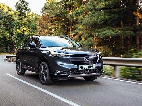 Новое поколение Honda HR-V появится в Украине в начале 2022 года