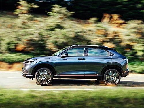 Новое поколение Honda HR-V появится в Украине в начале 2022 года - Honda