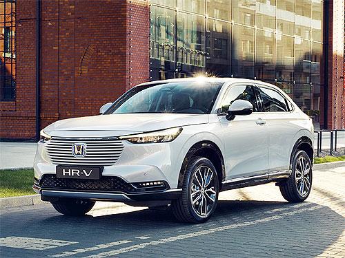 Honda HR-V нового поколения будет гибридным. В Украине – с начала 2022 года