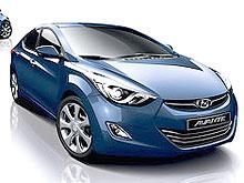 Новая Hyundai Elantra получит футуристический интерьер - Hyundai