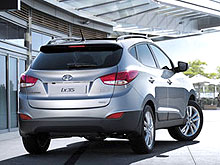 Hyundai ix35 признан самым безопасным кроссовером в Европе - Hyundai