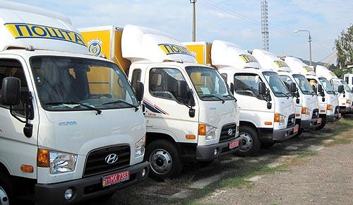 Укрпочта выбирает грузовики Hyundai - Hyundai