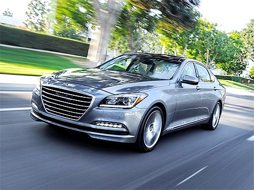 Hyundai Genesis получил наивысший балл в рейтинге безопасности ANCAP - Hyundai