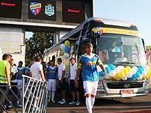 В Украине продан третий за два месяца туристический автобус Hyundai Universe