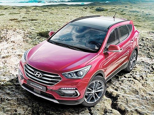 На Hyundai Santa Fe 2016 года выпуска действуют «горячие» выгодные цены - Hyundai