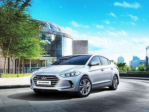 На бизнес седан Hyundai Elantra действуют спецпредложение