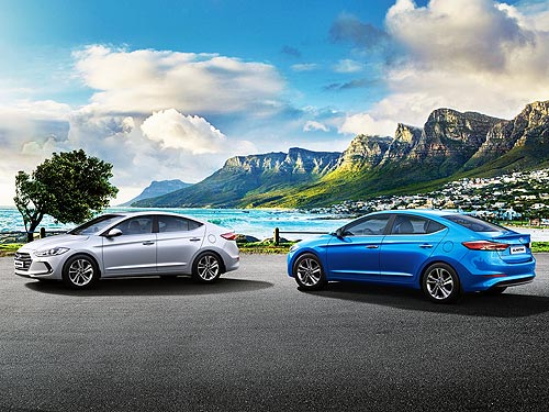 На Hyundai Elantra действует выгодное новогоднее предложение