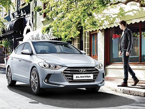 На стильный бизнес-седан Hyundai Elantra действует неделя выгодных цен