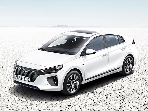 В Украине презентуют инновационные Hyundai IONIQ Hybrid и IONIQ Electric - Hyundai