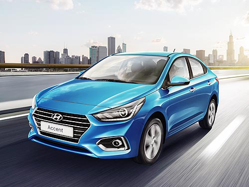 В июне действуют выгодные цены на новый Hyundai Accent - Hyundai