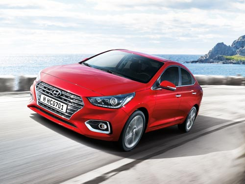 На новый Hyundai Accent действуют выгодные летние цены - Hyundai
