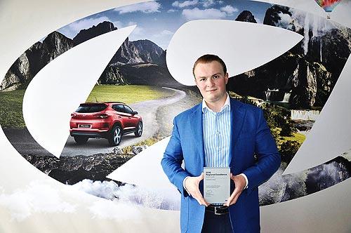 Украинский дистрибьютор Hyundai признан лучшим - Hyundai