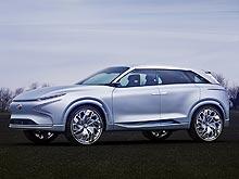 Hyundai представил новый гибридный концепт FE Fuel Cell Concept - Hyundai