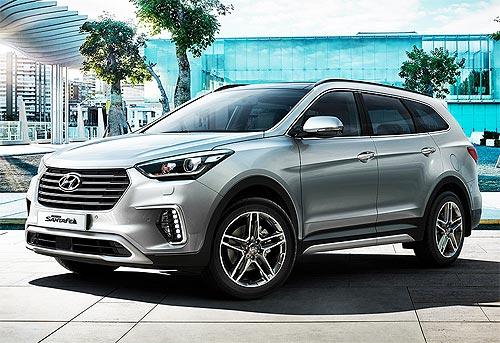 Hyundai Grand Santa Fe стала до 60 тыс. грн. выгоднее