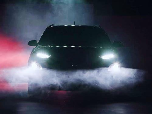 Новый компактный кроссовер Hyundai Kona дебютирует через две недели