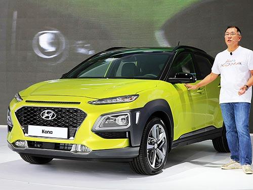 Продажи Hyundai Kona в Украине стартуют в конце 2017 года - Hyundai