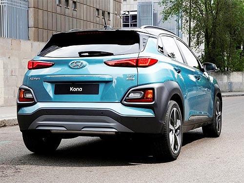 Hyundai рассекретил компактный кроссовер Kona - Hyundai