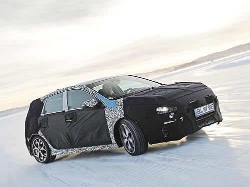 В Швеции проходят ресурсные испытания хэтчбека Hyundai i30N