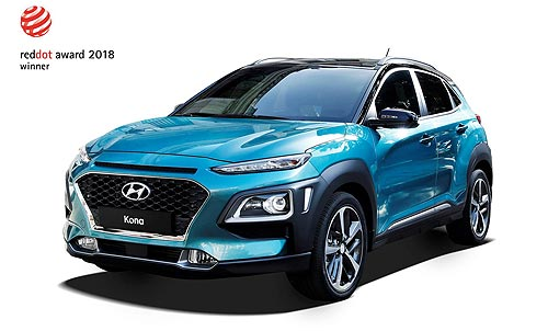 Сразу два новых кроссовера Hyundai получили награду за дизайн Red Dot Design Award - Hyundai