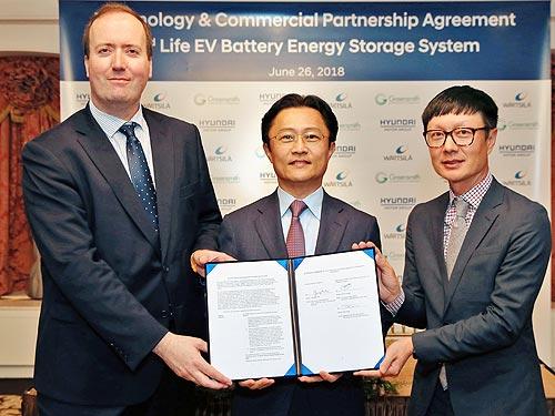 В Hyundai нашли применение б-у батареям электромобилей