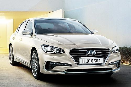 Hyundai Grandeur доступен с праздничной выгодой до 120 000 грн.