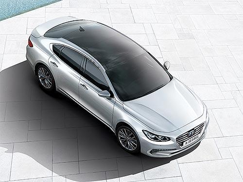 Hyundai Grandeur доступен с праздничной выгодой до 120 000 грн. - Hyundai