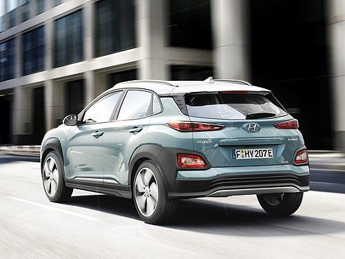 Hyundai Kona Electric появится в Украине в конце 2018 года - Hyundai