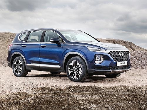 Новый Hyundai Santa Fe третий месяц подряд стал бестселлером в Корее