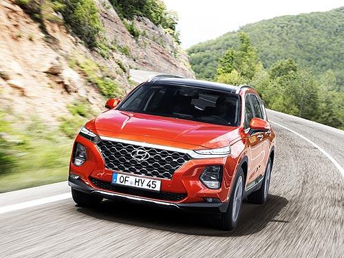 Новый Hyundai Santa Fe получил наивысший балл за безопасность от EuroNCAP