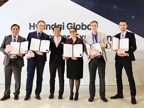 Украинские специалисты Hyundai показали высокий уровень профессионализма в Южной Корее