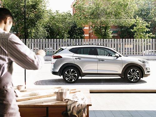 На все комплектации Hyundai Tucson действуют выгодные цены