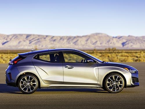В Детройте дебютировало новое поколение Hyundai Veloster - Hyundai