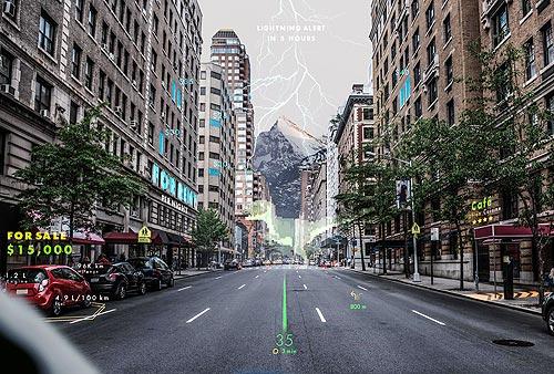 Hyundai разработает навигационную систему с дополненной реальностью