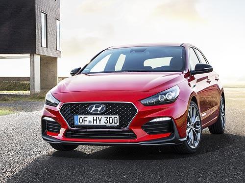 Hyundai представил «заряженный» i30 N Line