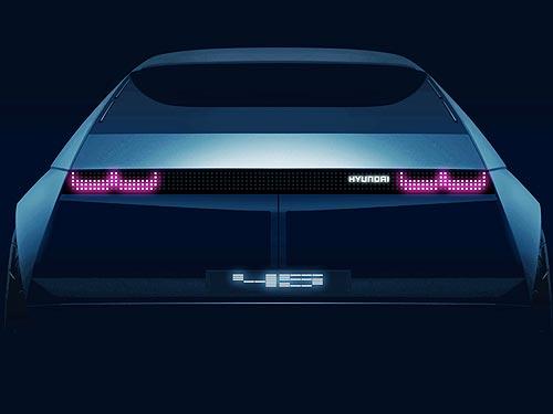 Hyundai представит концепт электромобиля «45»