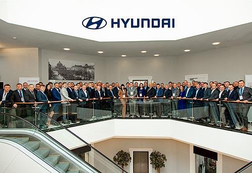В Украине наградили лучших дилеров Hyundai