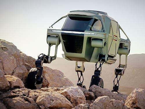 Hyundai представил «шагающий» электромобиль и другие новинки будущего