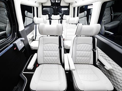В Украине создали люксовый микроавтобус на базе Hyundai H350 - Hyundai