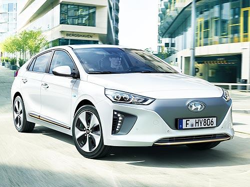 На электромобиль Hyundai IONIQ Electric действует выгода до 138 тыс. грн.
