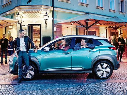 На iForum-2019 дебютирует новый электрокроссовер Hyundai Kona Electric