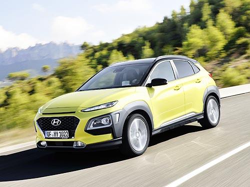 В Украине начали принимать заказы на новую Hyundai Kona с бензиновыми двигателями