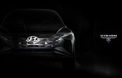 Hyundai интригует новым концептом внедорожника Vision T
