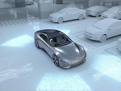 Hyundai научит электромобили самостоятельно искать место на парковке для зарядки
