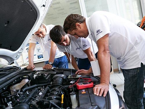 В Украине определили лучшего технического специалиста Hyundai в 2019 году