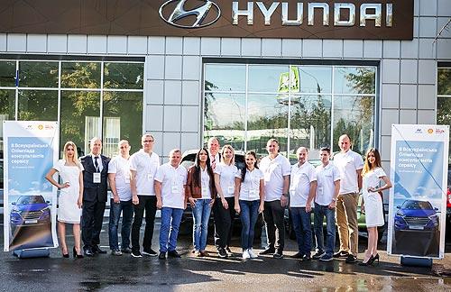 В Украине определили лучших консультантов по сервису Hyundai