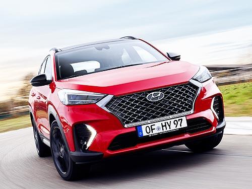 Продажи спортивного Hyundai Tucson N Line стартуют в мае
