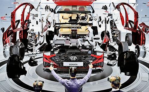 Hyundai представляет новую VR-систему оценки дизайна